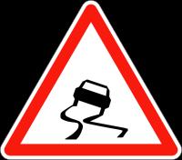Die Straßen von Paris: Zunehmend rutschig!