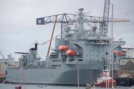Gestern noch im Kanal, Morgen Syrien und dazwischen Gibraltar befreien?